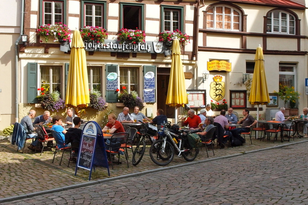 Koffiestop in Bad Wimpfen