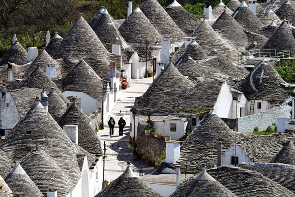 Trulli in Alberrobello